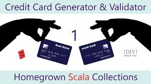 homegrown scala collections part 1 credit card generator validator