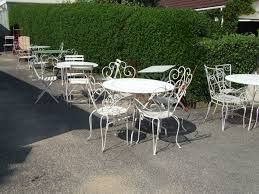 white wrought iron garden furniture. Magnificent Wrought Iron Pub Table Setsd Chairs Nz Bistro Chair. White Patio Garden Furniture A