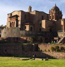 Q'Oricancha, Cusco, Peru. The most sacred Inca temple of the sun