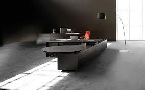 interior contemporary black modern office. Modern Office Desk Black Interior Contemporary
