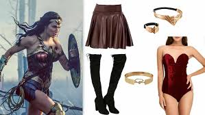 how to make your own wonder woman costume