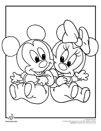 Baby Disney Characters Free Coloring Pages On Art Coloring Pages