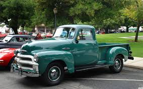 Truck chevy 1955 truck : 1955 First Series Chevy/GMC Pickup Truck – Brothers Classic Truck ...