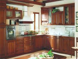 Wooden Kitchen Furniture Cherry Wood Kitchen Cabinets Home And Interior