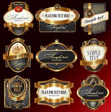 Label Design Vector Free Download Luxury Label Design Elements Vector Material 3 Free