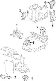 com acirc reg pontiac grand am engine mounting oem parts 2002 pontiac grand am gt1 l4 2 2 liter gas engine mounting