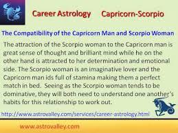 Scorpio And Capricorn Compatibility Chart Capricorn And Scorpio Love Relationship Youtube