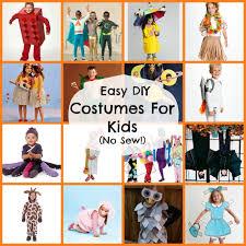 easy costumes for kids diy