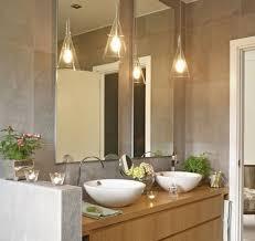 modern bathroom pendant lighting with plain bathroom pendant lighting ideas 7