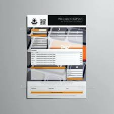 Free Request For Quote Template Word Goods Price Quotation
