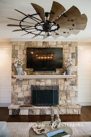 industrial style living room furniture. This Industrial-style Ceiling Fan Is A Great Way To Complement The Fireplace And Living Industrial Style Room Furniture