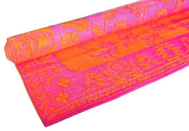 astounding orange outdoor rugs pink outdoor rugs color love pink orange house throughout pink and