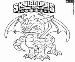 Kleurplaten Skylanders Spyro Brekelmansadviesgroep