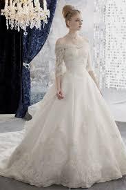 Elegant Wedding Dresses With Sleeves Naf Dresses