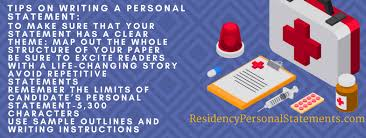Personal Statement Tip Guide To Oncology Residency Programs Personal Statement Writing