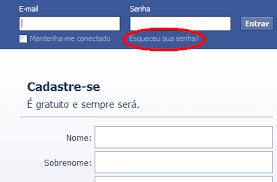 Senha do Facebook