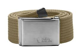 <b>Ремень Fjallraven Canvas Belt</b> Sand (Песочный)
