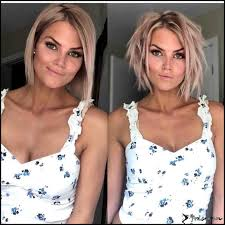 10 Trendy Messy Bob Hairstyles And Haircuts 2019 Female Short Hair
