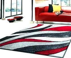 full size of black white grey and red rugs gy rug furniture charming orange pom blackwhitegrey