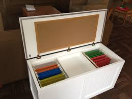 Hanging Files For Filing Cabinets File Cabinet In Disguise Chest Removable Center Tray Storage