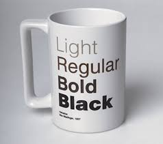 Mug Design Ideas Helvetica Coffee Mug
