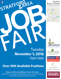 We Re Hiring Join Us At The Stratford Area Job Fair Clv Group
