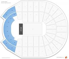 Incredible Verizon Arena Seating Chart Seating Chart
