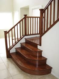 Wood Stairs traditional-staircase