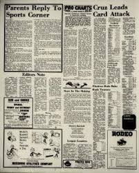 Sikeston Rodeo Seating Chart Sikeston Daily Standard Archives Aug 6 1971 P 6