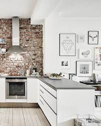 20 kitchen designs with exposed brick