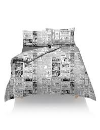 fancy duvet cover with pillow case printed quilt