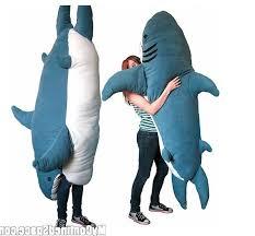 Cheap Shark Pillow Sleeping Bag .