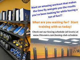 Boxing Club Fitness Evolution