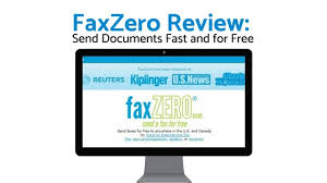 electronic fax free faxzero review send documents fast and for free web base faxing