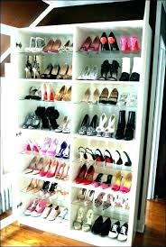 how to organize my shoes in a small closet ways images the truth about shoe s