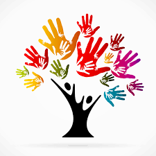 Tree Design Hand With Tree Design Vector Free Download