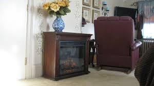 arthur cherry roll away electric fireplace 23rm133 c232