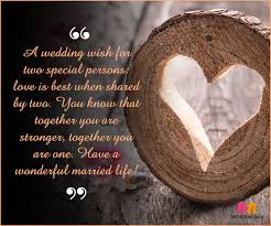 Beautiful Quotes For Newly Married Couple Best of Marriage Wishes Top24 Beautiful Messages To Share Your Joy