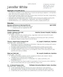 Medical Surgical Nurse Resume Sample Surg Resume Examples And Sample
