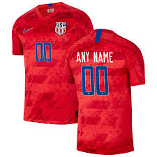 Replica Usmnt 2019 Away Jersey - Stadium Custom Red Nike|Seattle Seahawks Croak As Packers Kick Them Silly Within The Snowflakes, Forty Two