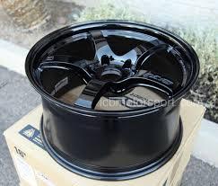 Rays Gram Lights 57cr 18x9 5 5x120 38 Offset Gloss Black