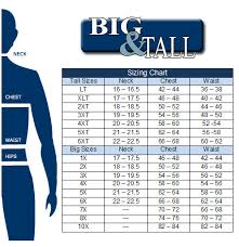 Perry Ellis Size Chart About Us Big And Tall Londons Menswear Big And Tall