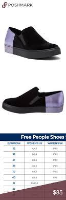 Bnwt Free People Varsity Slip On Sneakers Sizing Whole