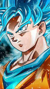 3d iPhone Wallpaper — Goku SSJ ...