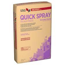 usg beadex brand 50 lb quick spray