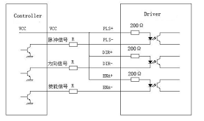dm542a, 2 4 phase stepper motor driver, stepping motor driver Dm542a Wiring Diagram fig 1 input port circuit (postive connection) Basic Electrical Schematic Diagrams