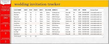Wedding Guest List Template Excel Download 35 Beautiful Wedding Guest List Itinerary Templates
