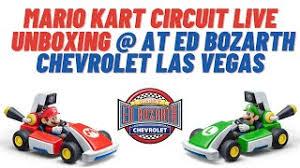 Mario Kart Circuit Live Ed Bozarth Chevrolet Las Vegas Chevy Dealership Showroom Race Youtube