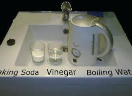 unclogging a bathtub drain with baking soda baking soda for drains baking soda and vinegar uses