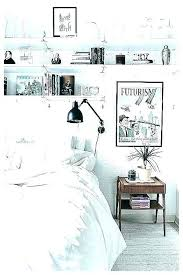 shelves around bed around bed storage over the shelves shelf decoration built in a floating shelves